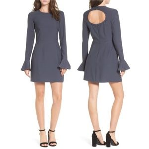 NWT   LEITH Bell Sleeve Sheath Dress Sz XS
